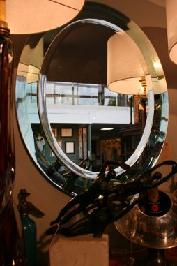 Mid-Century Cristal Arte Mirror