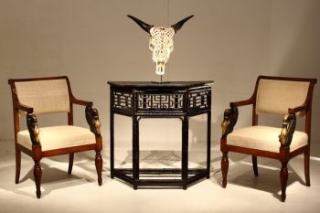 Chinese Bamboo Console