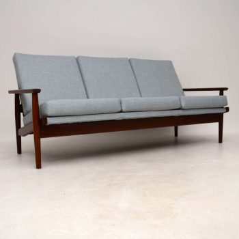 1960's Danish Vintage Sofa in Afromosia