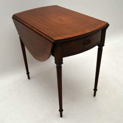 Antique Regency Mahogany Pembroke Drop Leaf Table
