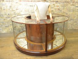 Bespoke Round Shop Display Cabinet