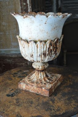 19th Century Cast Iron urn