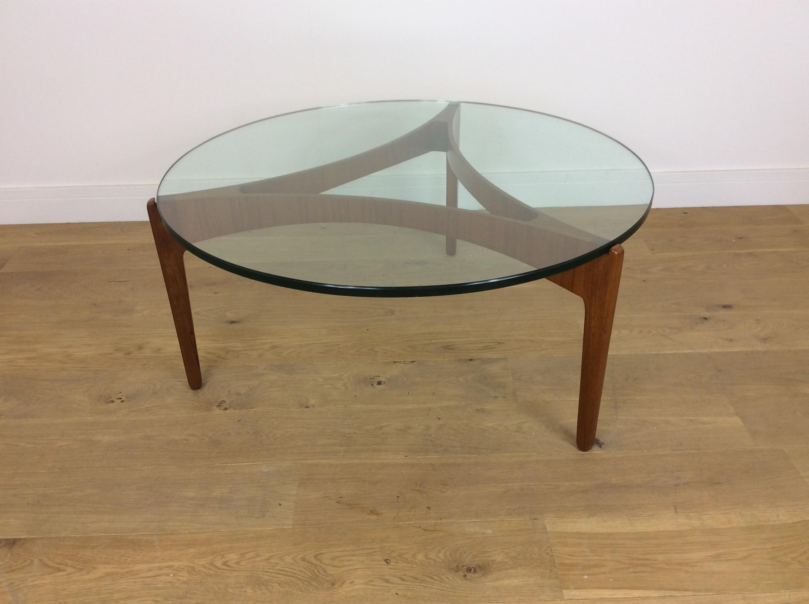 teak retro furniture. Mid Century Danish Teak And Glass Table By Sven Ellekaer Retro Furniture D