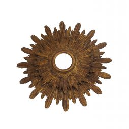 19th Century sunburst mirror
