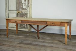 19TH C FRENCH FARMHOUSE TABLE