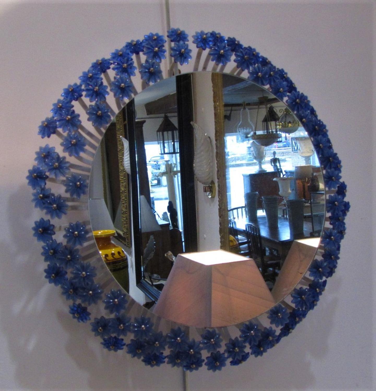 A Mid Century Illuminated Mirror