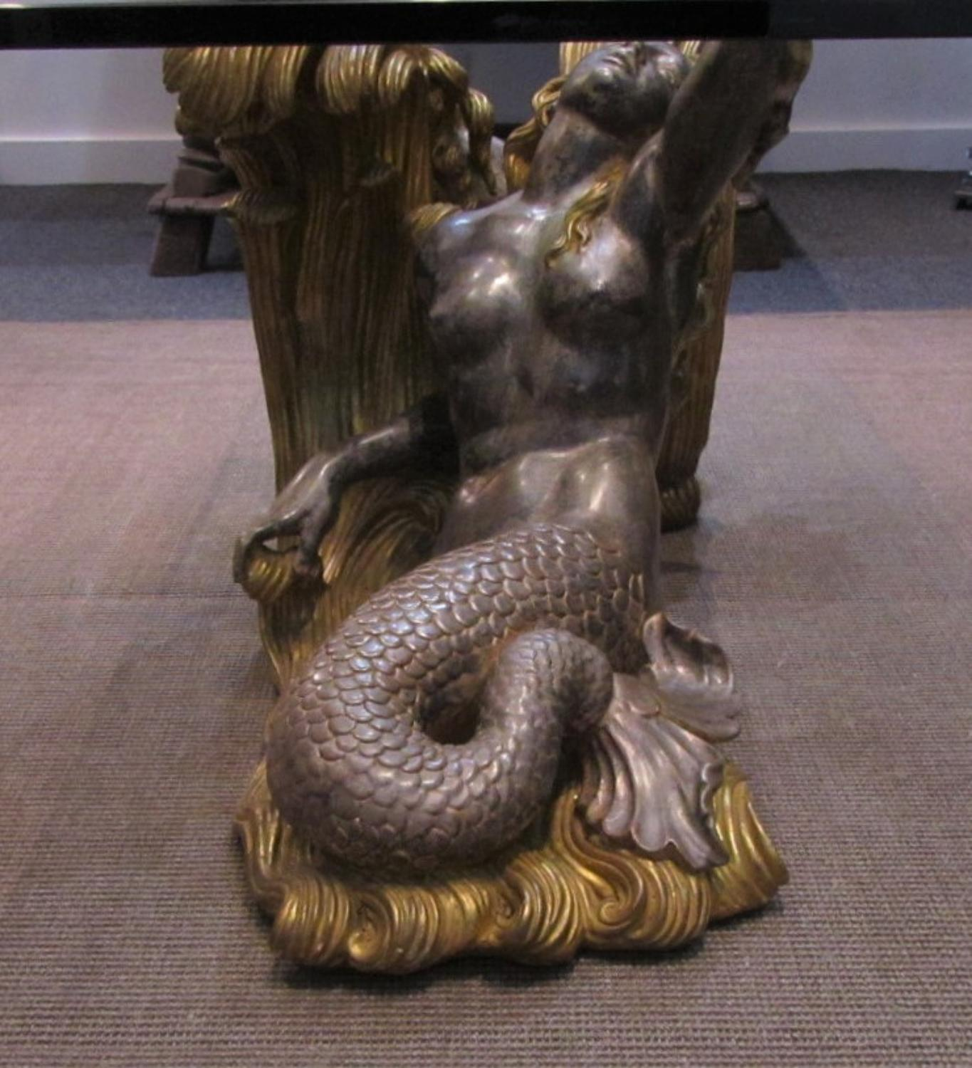 Mid century mermaid coffee table interior boutiques for Mermaid coffee table