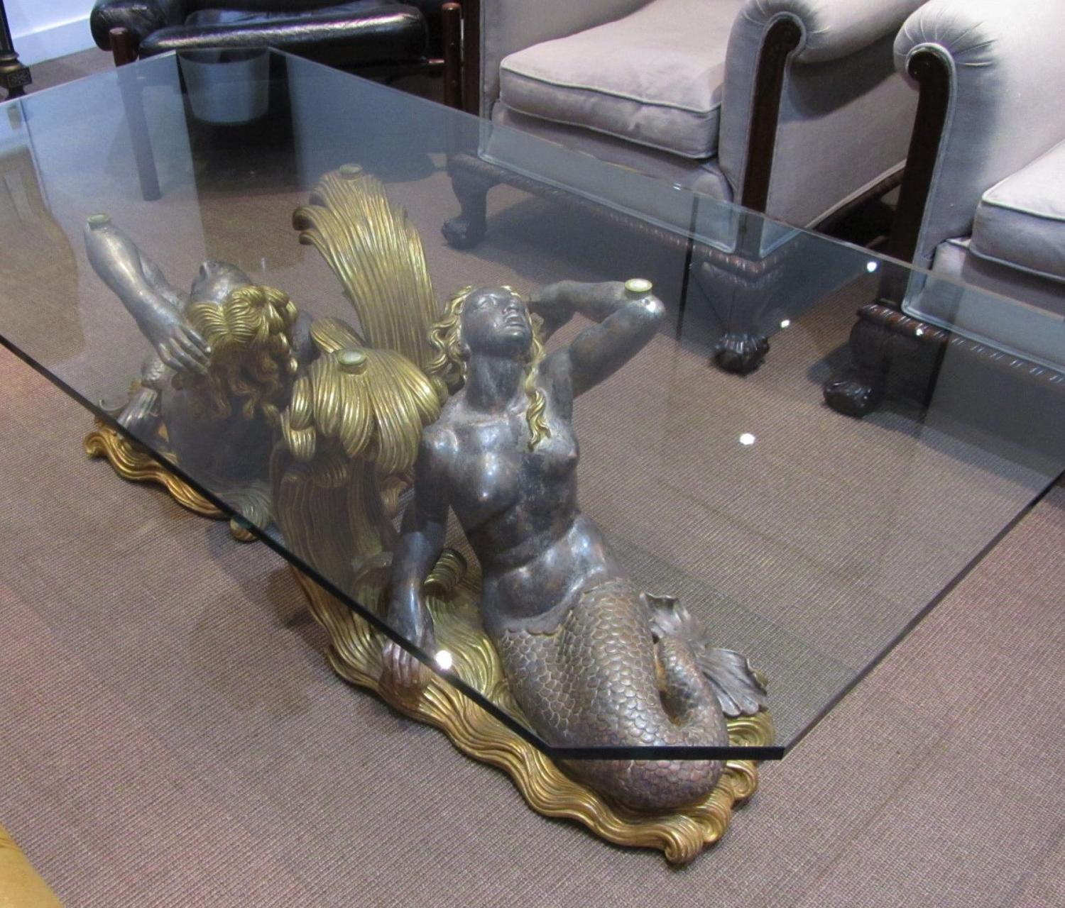 Mid Century Mermaid Coffee Table Interior Boutiques