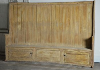 18th Century English Settle bench