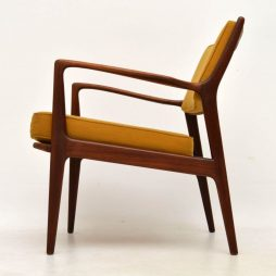 1960's Swedish Vintage Teak Armchair by Karl-Erik Ekselius