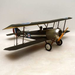 Antique Vintage RAF Model Fighter Biplane