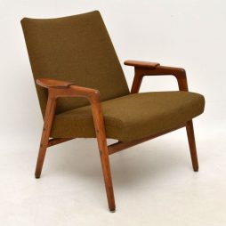 1960's Swedish Vintage Teak Armchair by Yngve Ekstrom