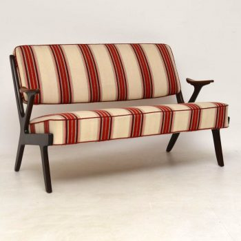 1960's Swedish Vintage Two Seat Sofa