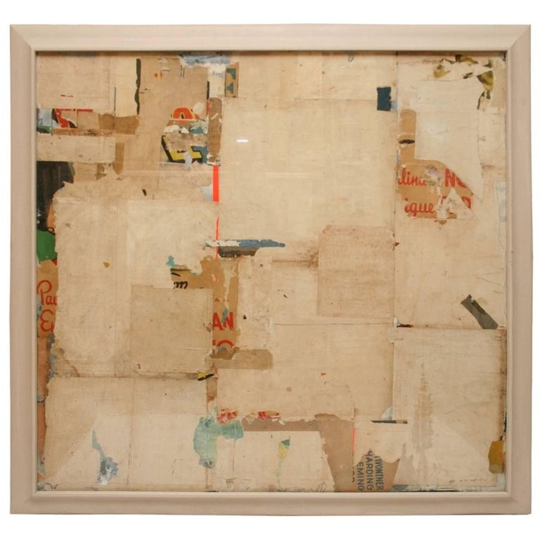 Abstract Collage by Huw Griffith on InteriorBoutiques.com