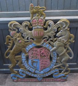 A cast iron Royal Warrant