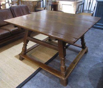 18th Century Swiss Alpine farm table