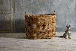 Very large log basket