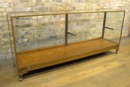 Vintage Bronze Shop Display Counter