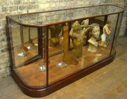 Victorian Mahogany Shop Display Counter
