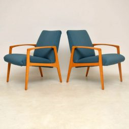 1960's Pair of Swedish Vintage Armchairs