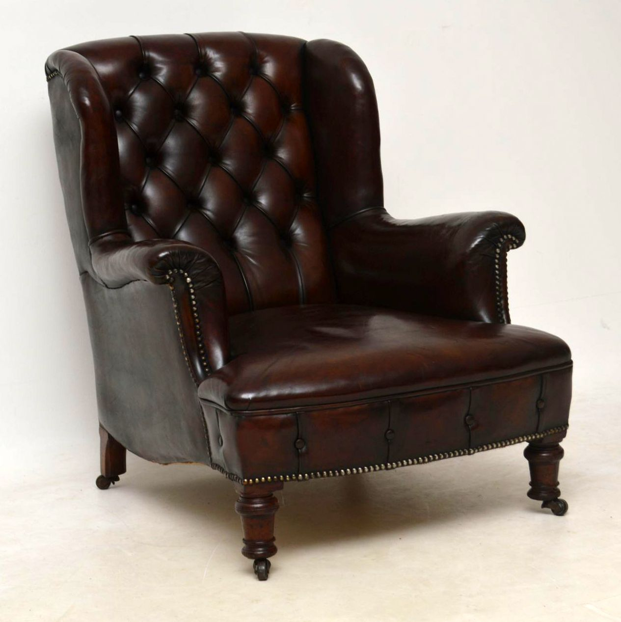 Antique Victorian Leather Armchair | Interior Boutiques ...