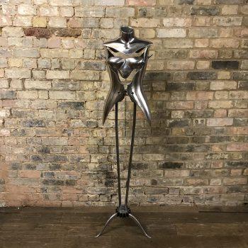 Aluminium Mannequin by Nigel Coates