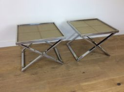 MID CENTURY BUTLERS TABLES