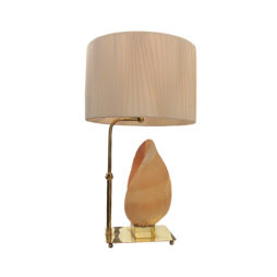 1950's Sea shell table lamp