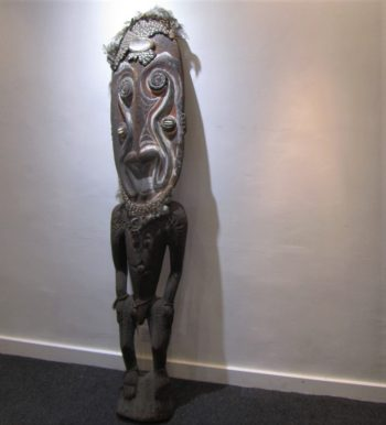 A large tribal art figure