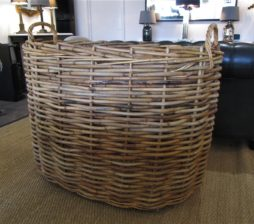 An Enormous Country House log basket