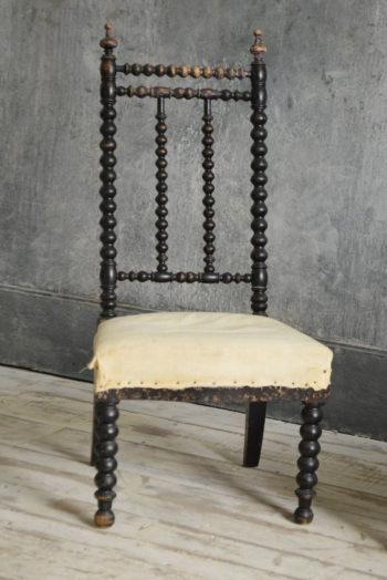 Antique bobbin chair