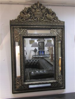 A dutch repoussee mirror
