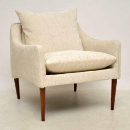 1950's Vintage Danish Rosewood Armchair by Hans Olsen
