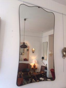 Large Mid-Century Mirror