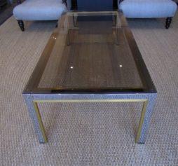 A 1970's Italian coffee table