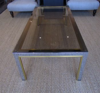 A 1970's Italian coffee table