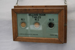 Antique Billiard Room Butlers Servants Bell Box