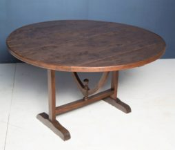 A 19thC French wine table