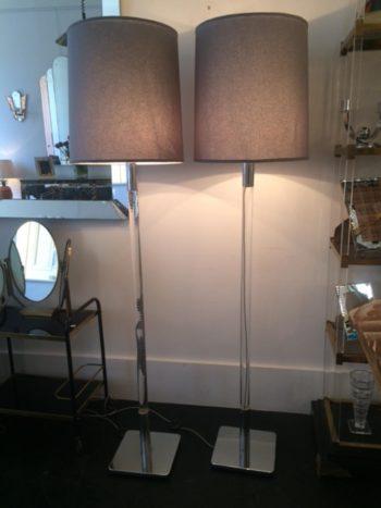 Pair of Italian 1960s Floor Lamps