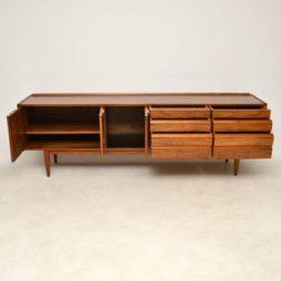 1960u0027s Vintage Walnut Sideboard By Robert Heritage For Archie Shine