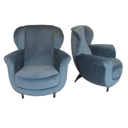 A pair of armchairs by Moroso