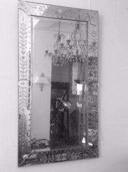 Pair of large mirrors