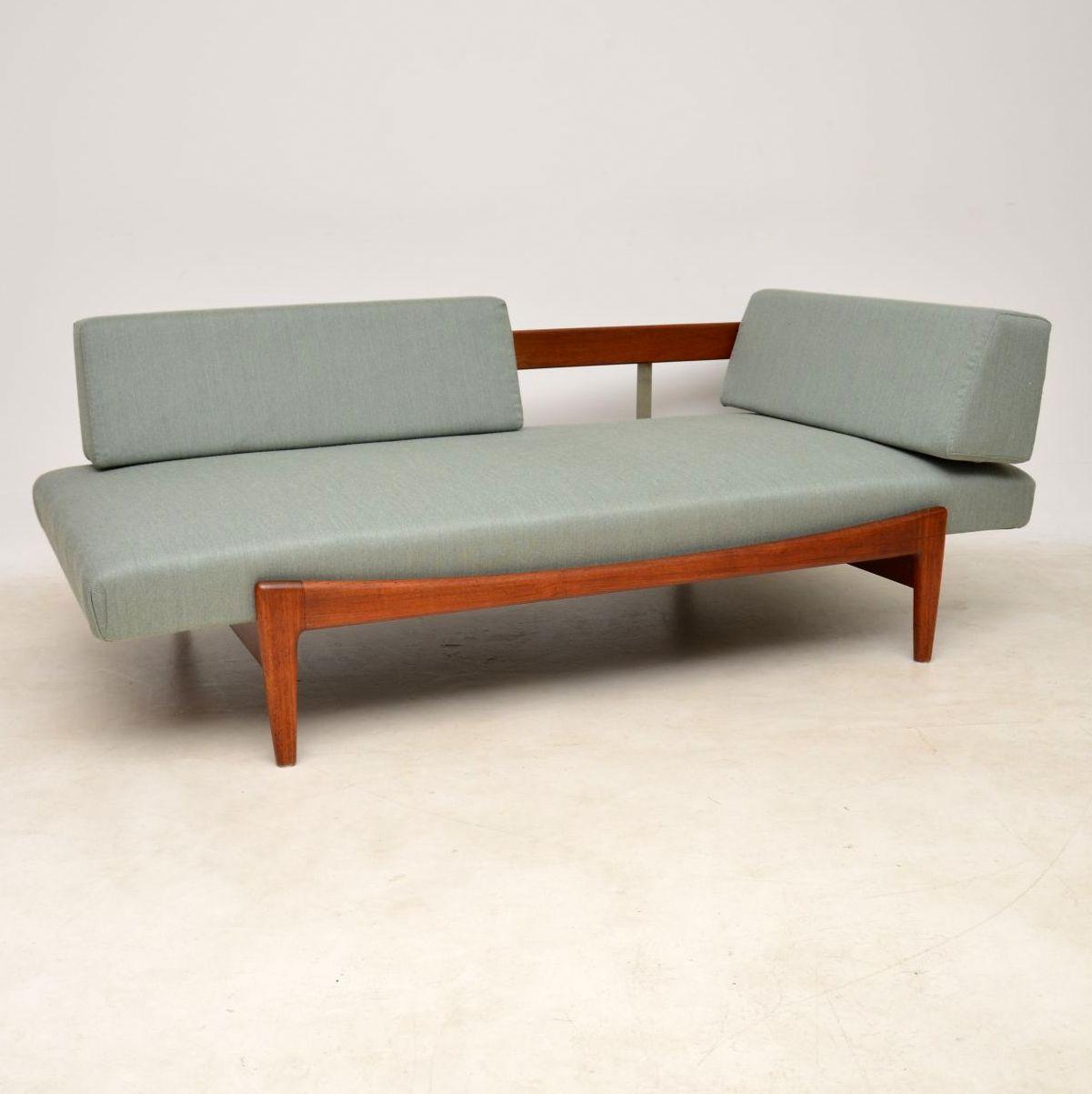 1960 S Vintage Danish Teak Daybed Sofa By Ib Kofod Ln