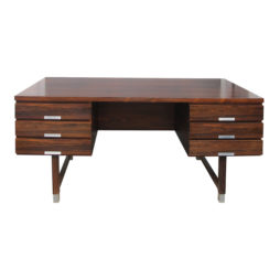 Danish rosewood desk by Kai Kristiansen