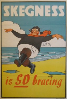Skegness Is So Bracing Poster