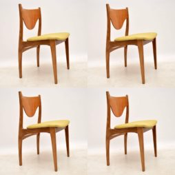 Set of Four 1960's Teak Dining Chairs by G- Plan