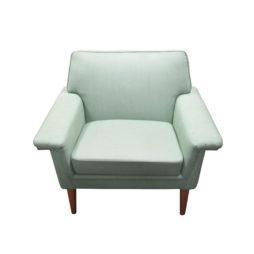 A single mid-century Swedish armchair