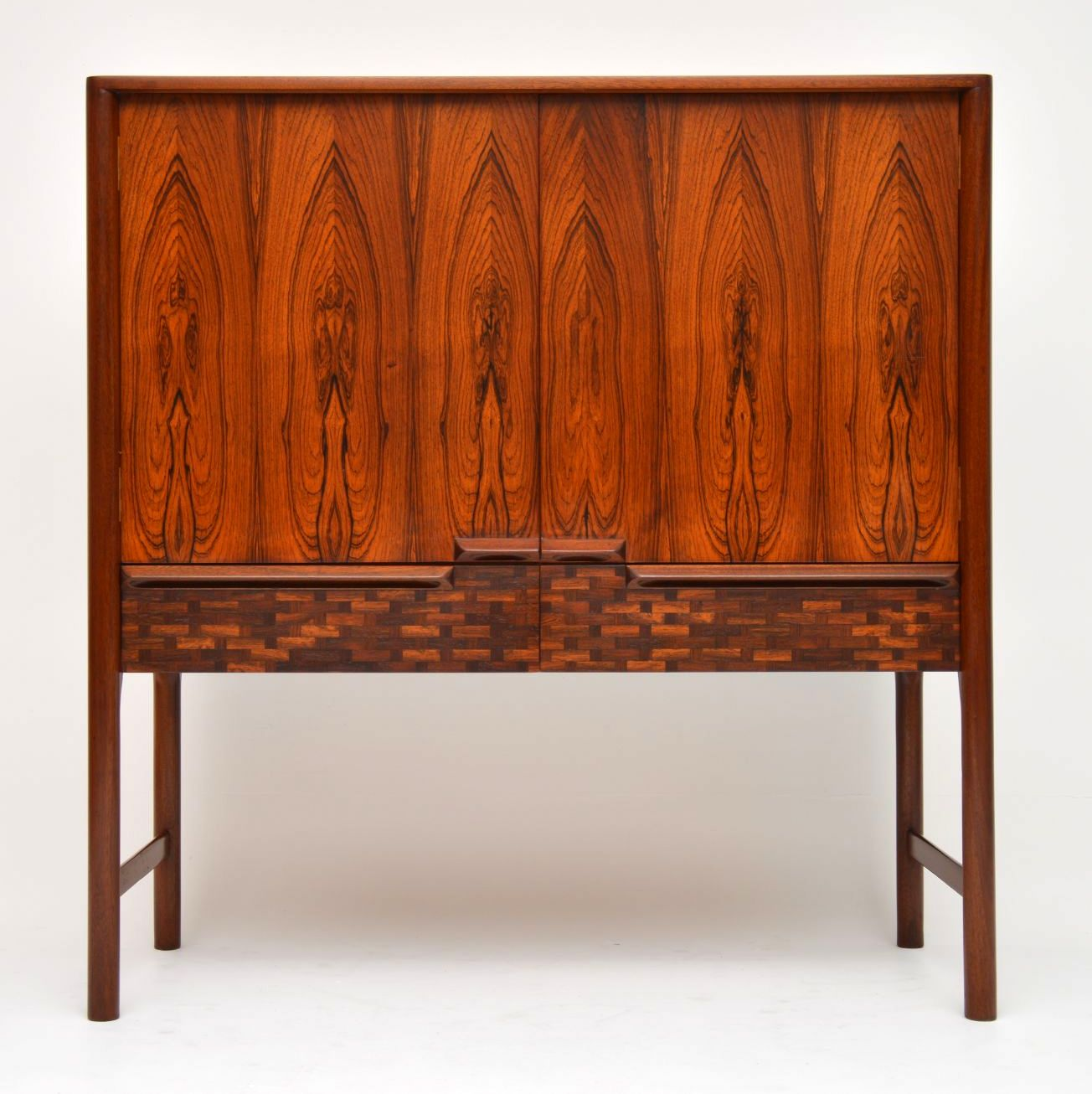 1960 S Vintage Rosewood Drinks Cabinet By Mcintosh Interior