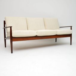 1960's Danish Rosewood Sofa by Grete Jalk for France & Son