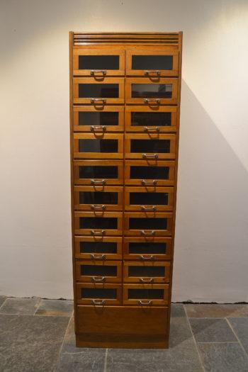 1930s Oak Haberdashery Cabinet